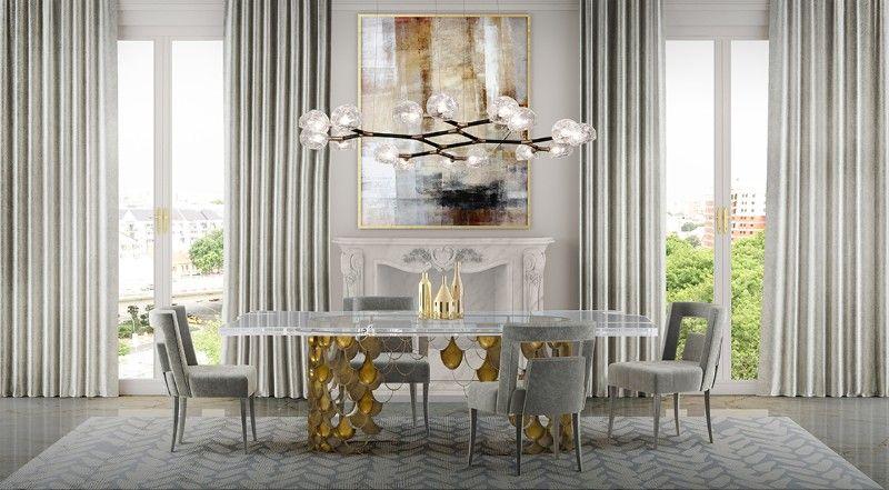 The Most Elegant Modern Dining Room Lighting Dining Room Design