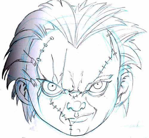 Dibujos De Chucky El Muñeco Diabolico Para Colorear Buscar Con Google Chucky El Muñeco Chucky Dibujos