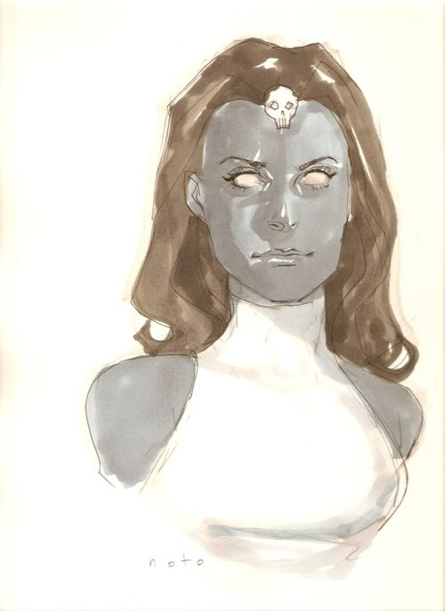 Mystique by Phil Noto  || CHARACTER DESIGN REFERENCES | Find more at https://www.facebook.com/CharacterDesignReferences if you're looking for: #line #art #character #design #model #sheet #illustration#expressions #best #concept #animation #drawing #archive #library #reference #anatomy #traditional #draw #development #artist #pose #settei #gestures #how #to #tutorial #conceptart #modelsheet #cartoon