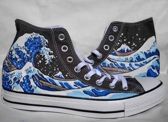 Hand Painted Converse Shoes Pictures Photos And Images For Painted Converse Painted Shoes Aesthetic Shoes