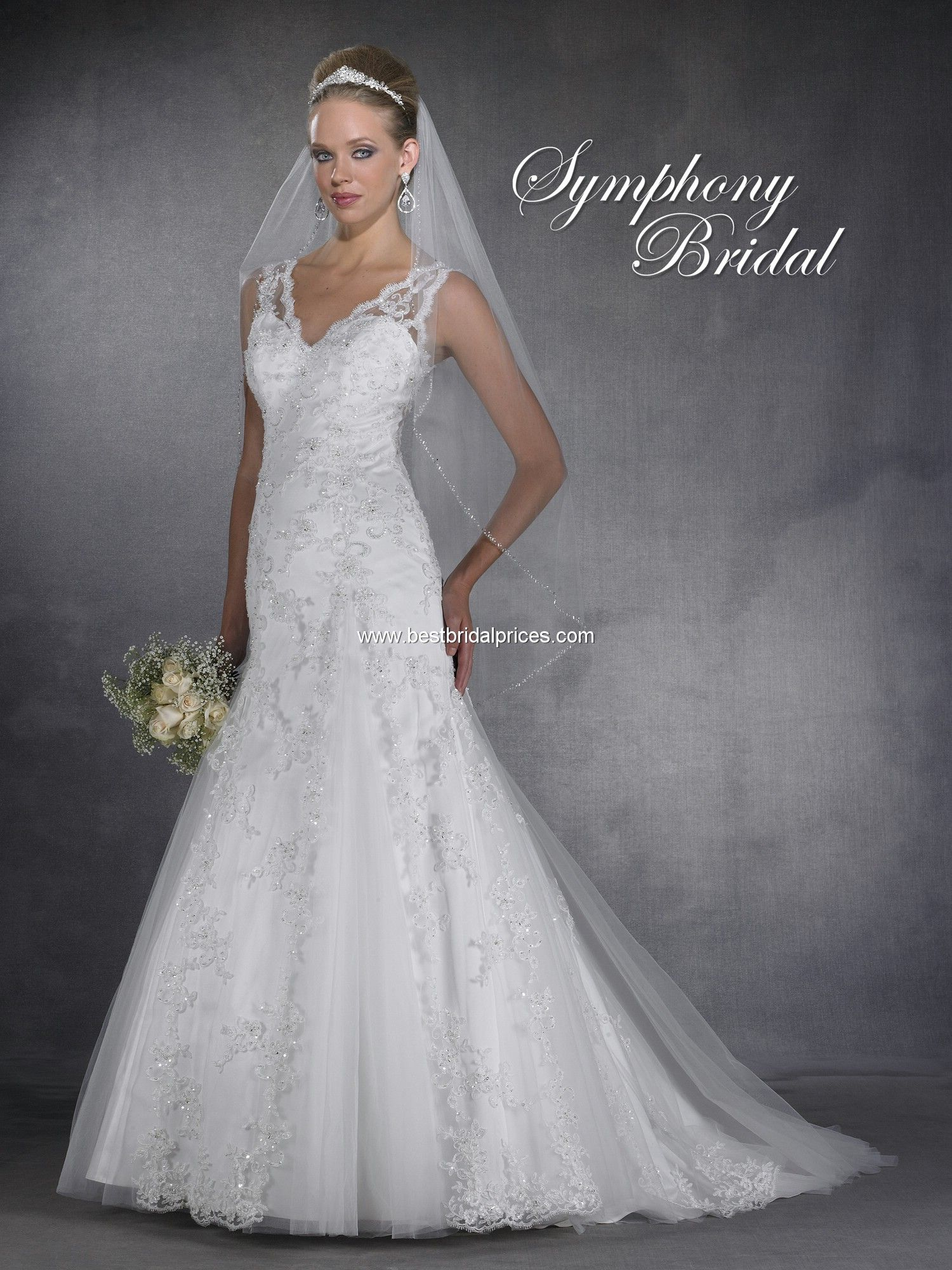 Symphony Wedding Dresses S2907 | My Wedding | Pinterest | Wedding ...