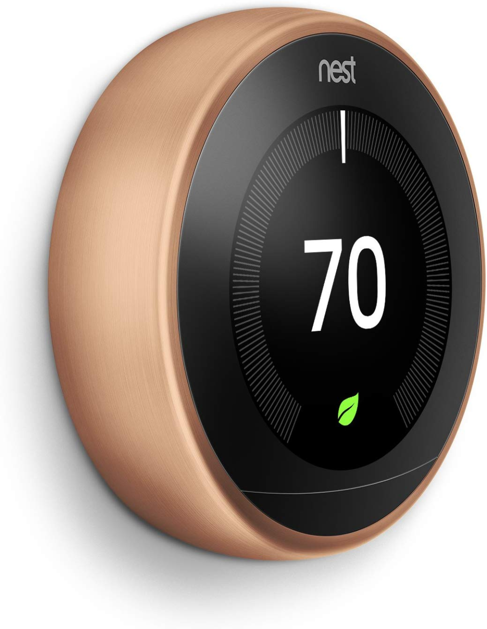 Google T3007es Nest Learning Thermostat 3rd Gen Smart Thermostat Stainless Steel Works With Alexa Nest Learning Thermostat Nest Learning Works With Alexa