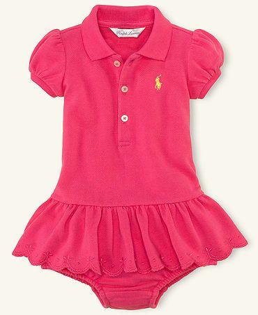 49ce036b7 Pink Ralph Lauren Baby Dress. ABSOLUTELY LOVE   Baby Girl Love ...