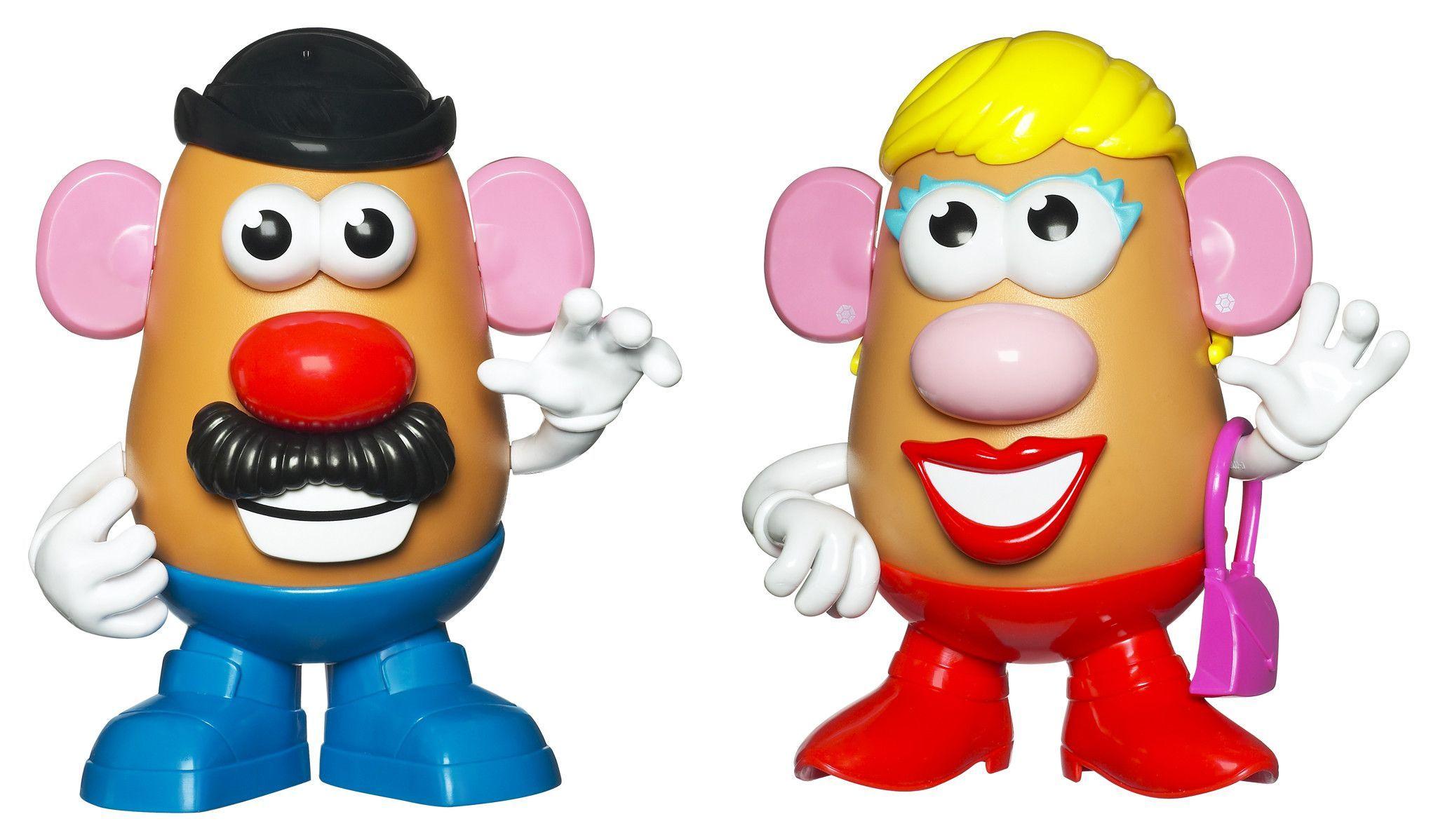 Mr Mrs Potato Asst Potato heads