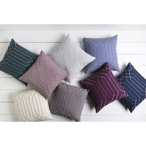 Found it at Wayfair - Loreta 100% Linen Throw Pillow Cover