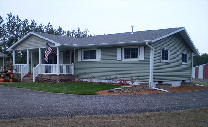 Home improvement project products installed include for Cypress color vinyl siding