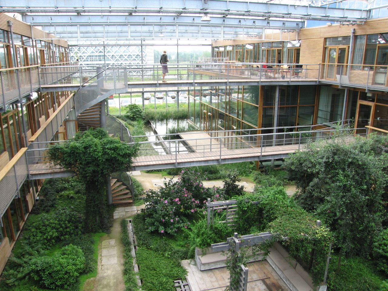 Building Architecture · Wageningen University Greenhouse