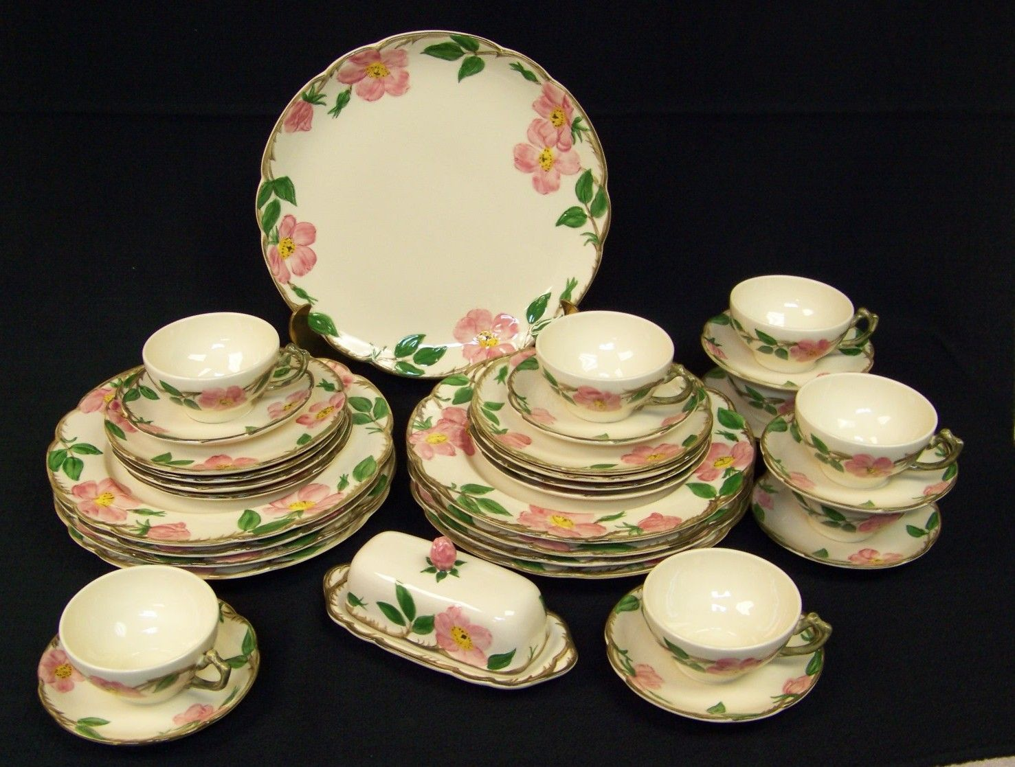 Rose Pattern China Amazing Decorating