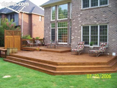 These Kinds Of Stairs For Back Deck Deck Designs Backyard Deck Stairs Decks Backyard