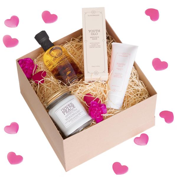 Luxury Organic P&er Gift Set For Her - Valentines Day Beauty Gift Set  sc 1 st  Pinterest & Luxury Organic Pamper Gift Set For Her - Valentines Day Beauty Gift ...