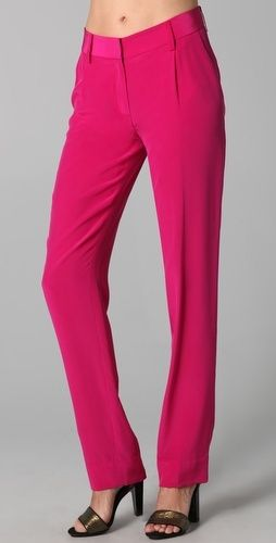 Diane von Furstenberg Naples Pants - StyleSays