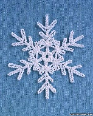 Dainty and free snowflake crochet patterns crochet for Snowflake template martha stewart