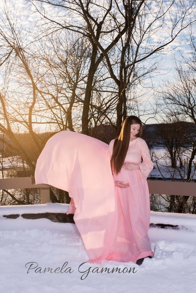 Maternity Photography Snow Ideas