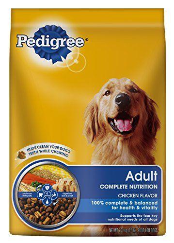 Pedigree Adult Complete Nutrition Chicken Flavor Dry Dog Food 17