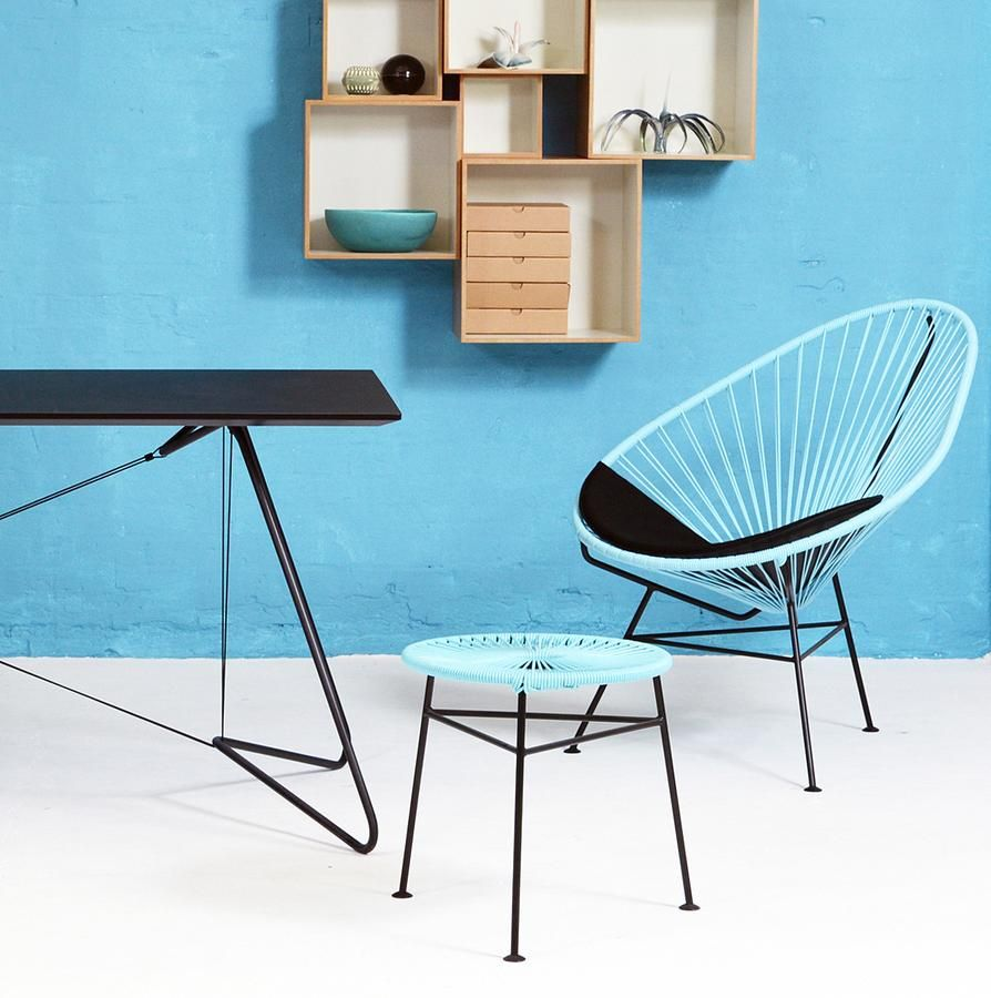 ok design acapulco chair outdoorm bel sommerliches. Black Bedroom Furniture Sets. Home Design Ideas