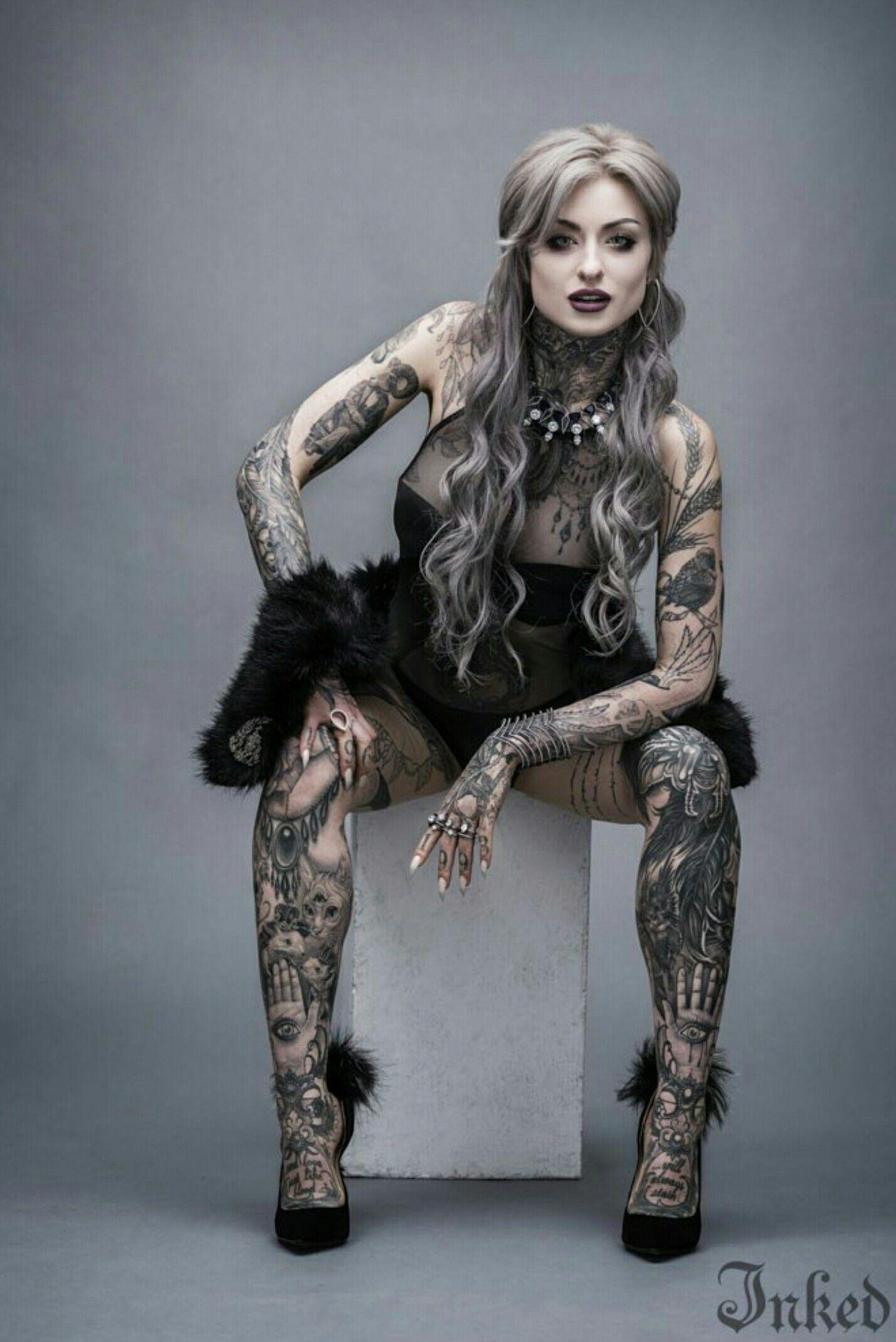 Ryan Ashley Inked Magazine ryan ashley Tattoos, Girl