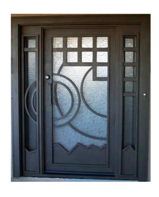 puertas principales contempor neo herreria moderna