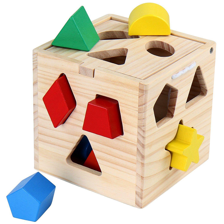 Der Klassiker für alle Kleinkinder. Sehr wichtig für den Lernprozess der Kinder. Spielend lernen! Kinderspielzeug, Holzspielzeug, Spielsachen. Gibt es hier: -> http://amzn.to/2lLQq3e