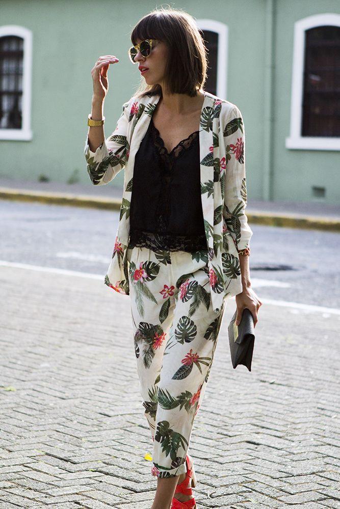 Tropical suit