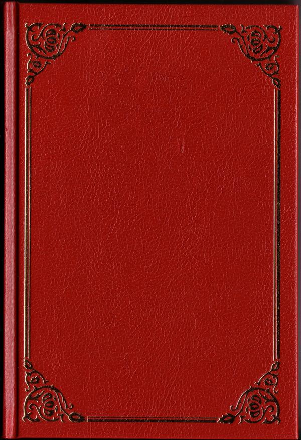 Classic Red Book Cover By Semireal Stock On Deviantart Book Cover Template Book Cover Wattpad Book Covers