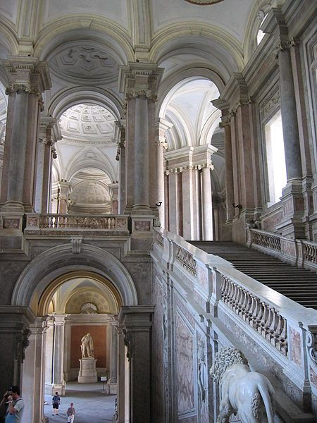 The Royal Palace of Caserta (Italian: Reggia di Caserta) is a former royal residence in Caserta, southern Italy, constructed for the Bourbon kings of Naples