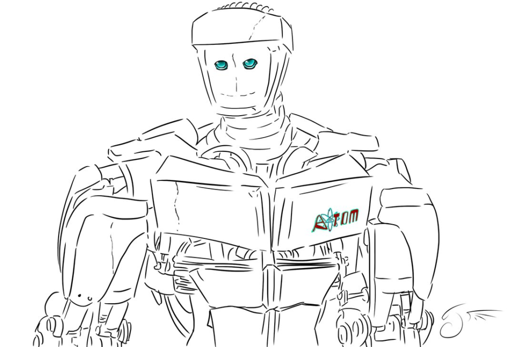 Real Steel Atom By Dragongirl508 On Deviantart Noisy Boy Real Steel Super Coloring Pages Superhero Coloring Pages