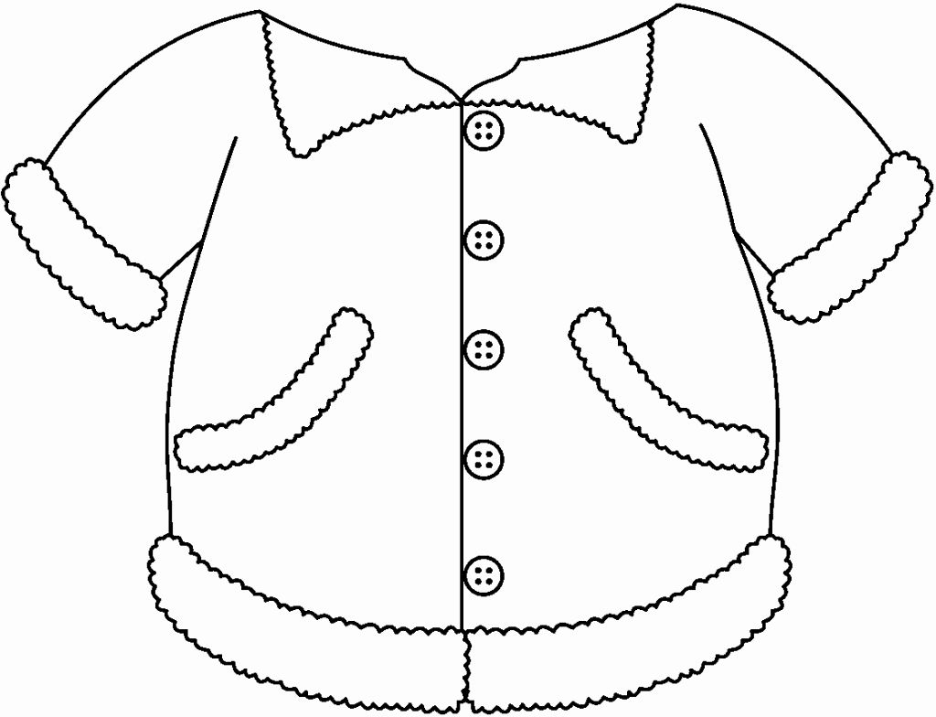 10++ Printable winter clothing coloring pages information
