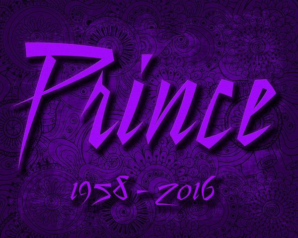 Prince Rogers Nelson Poster featuring the digital art Prince Memorial by David Smith