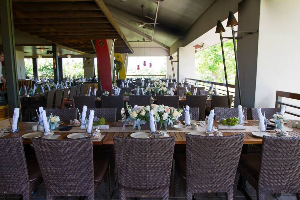 A Look At Our Reception Layout At Monkeypod Kitchen Ko Olina
