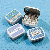 Boy Baby Shower Mint Tins