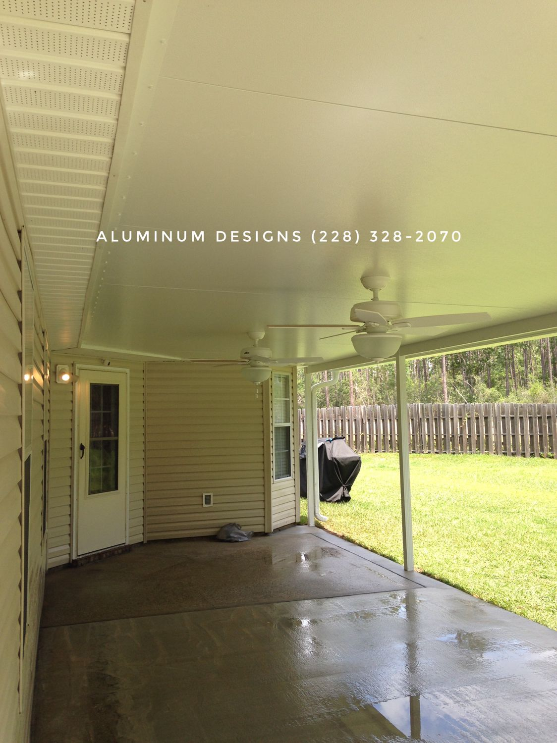 Insulated patio cover