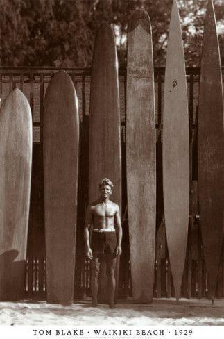 Old school surf boards - Waikiki  2bac6d0966b