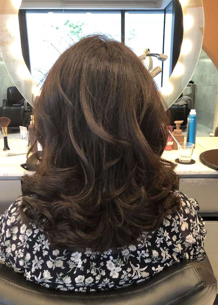 40代50代60代ヘアスタイル髪型 ミディアム 60代 ヘアスタイル