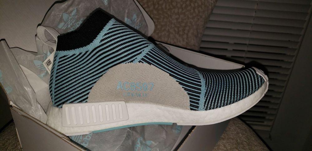 6a965a9d4 NMD CS1 Parley Primeknit Shoe (Core Black Blue Spirit) Size 9 Deadstock   fashion  clothing  shoes  accessories  mensshoes  athleticshoes (ebay link)