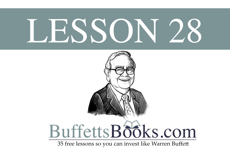 28 when to sell stock like warren buffett cash flow