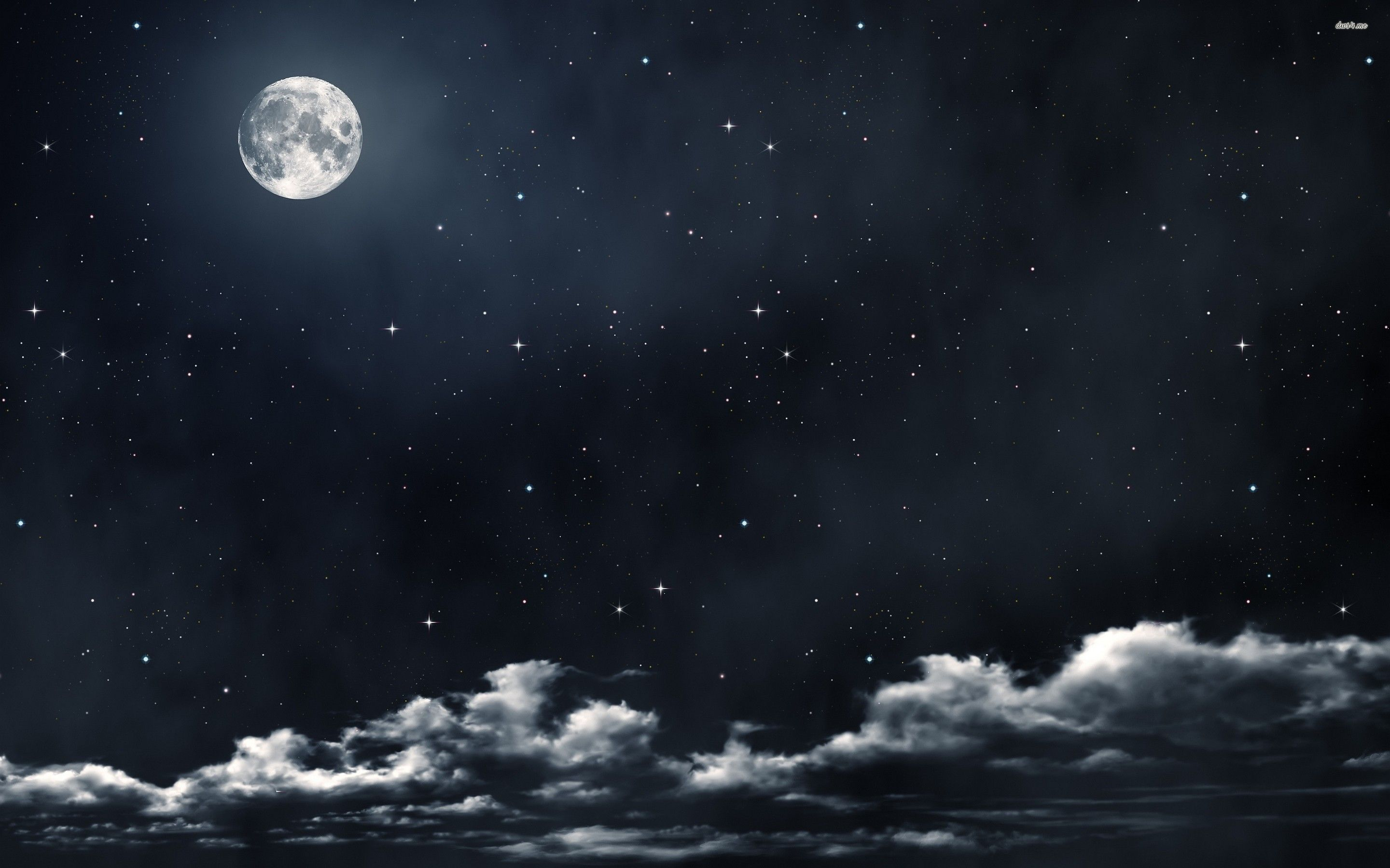 2880x1800 Pics Of Full Moon And Stars Dowload Download 3d Hd