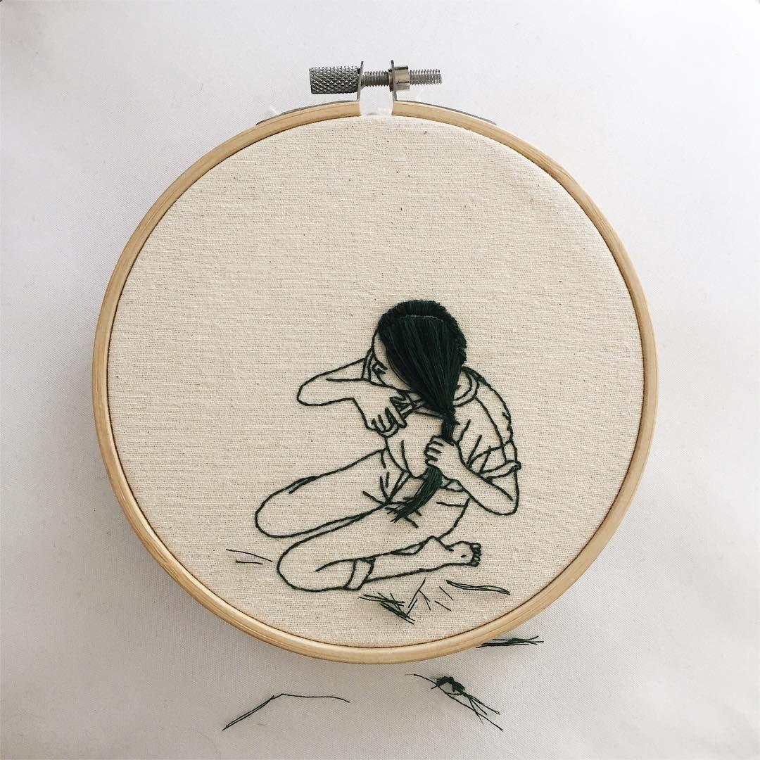 Pin de Luis en taller de bordado | Pinterest | Bordado, Bordado a ...