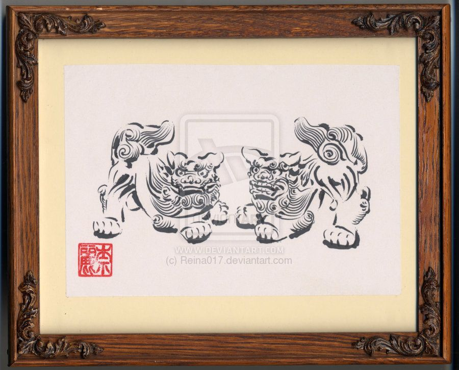 shisa by reina017 on deviantart inklove pinterest deviantart and tattoo. Black Bedroom Furniture Sets. Home Design Ideas