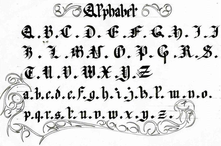Alphabet Calligraphie Gratuit caligraphie | calligraphie | pinterest | caligrafía et letras