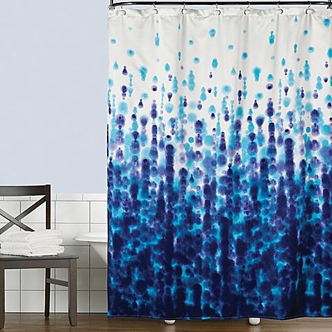Transform Your Bathroom Style With The Mist Shower Curtain From