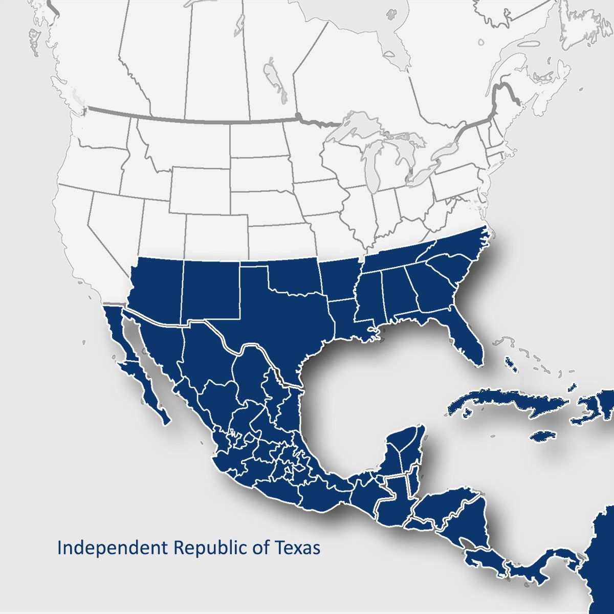 Map Of Texas Storms.Political Map Of The Americas Following The Succession Of Texas And
