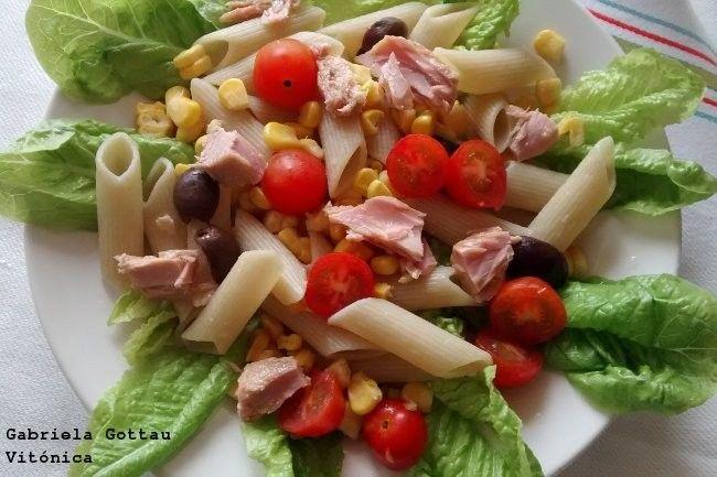 Ensalada de pasta y atún: receta saludable
