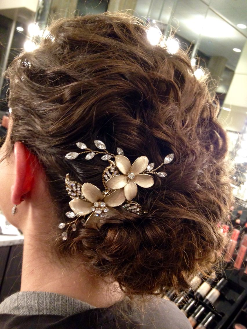 Always get a bridal trial curls are so romantic perfect bridal