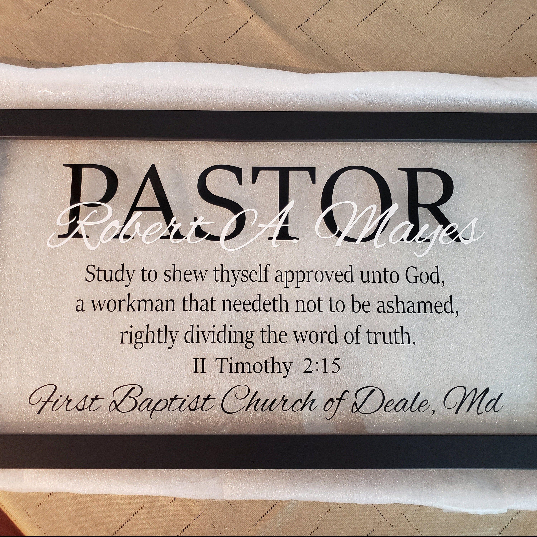 Pastor Gift Ideas Pastor Appreciation Wall Decor Retirement Etsy Pastors Appreciation Gifts For Pastors Pastor Appreciation Gifts