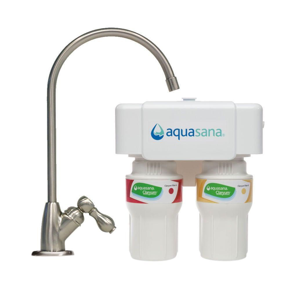Aquasana 2 Stage Under Counter Water Filtration System