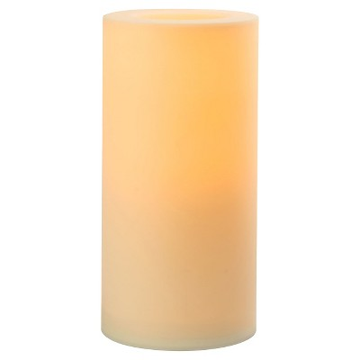 Outdoor Flameless Candles Beauteous Paradise Garden Lighting Outdoor Flameless Led Pillar Candle 6 X12 Review