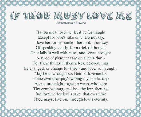 if thou must love me pdf
