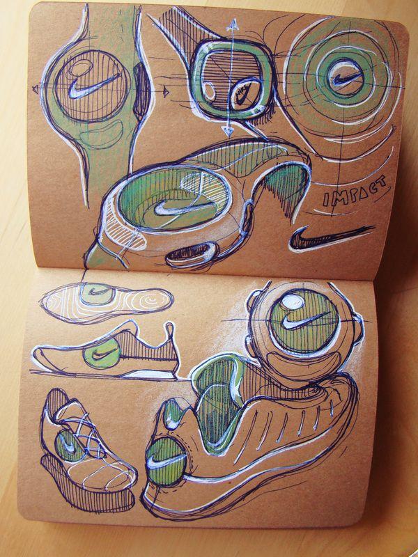Internship Sketch Book 2012 by Roshan Hakkim, via Behance