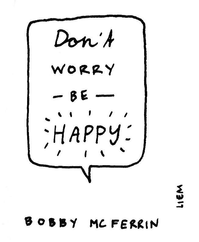 Sketchbook 365 Songs 147 Don T Worry Be Happy Songs Lyrics Tumblr Inspirational Music Quotes Music Quotes Lyrics Songs