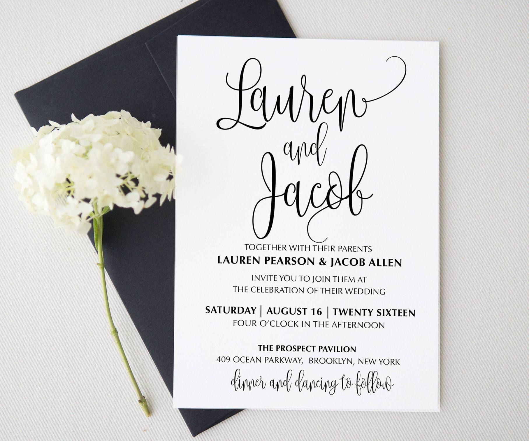 15 Etsy Wedding Invitations | Weddings